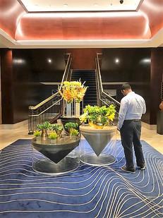 Lobby of Ritz-Carlton