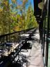Outdoor dining in Gessner