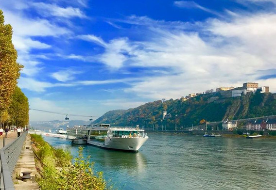 "The Emerald Sun, our Rhine River ""home """