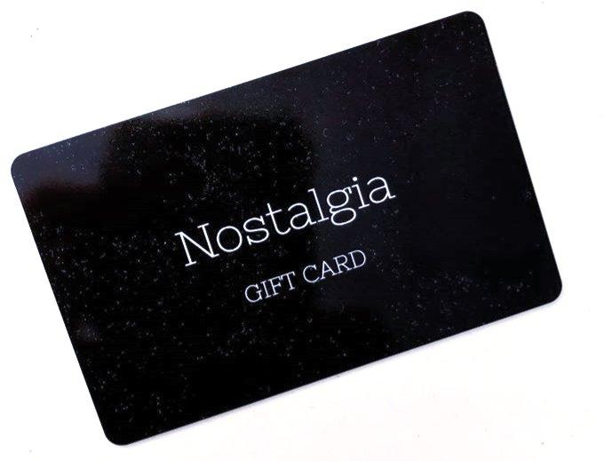 Nostalgia Gift Cards