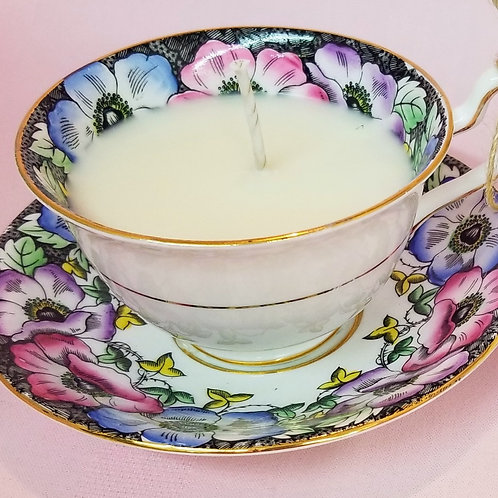 Vintage Tea Cup Candle - Taylor & Kent Floral