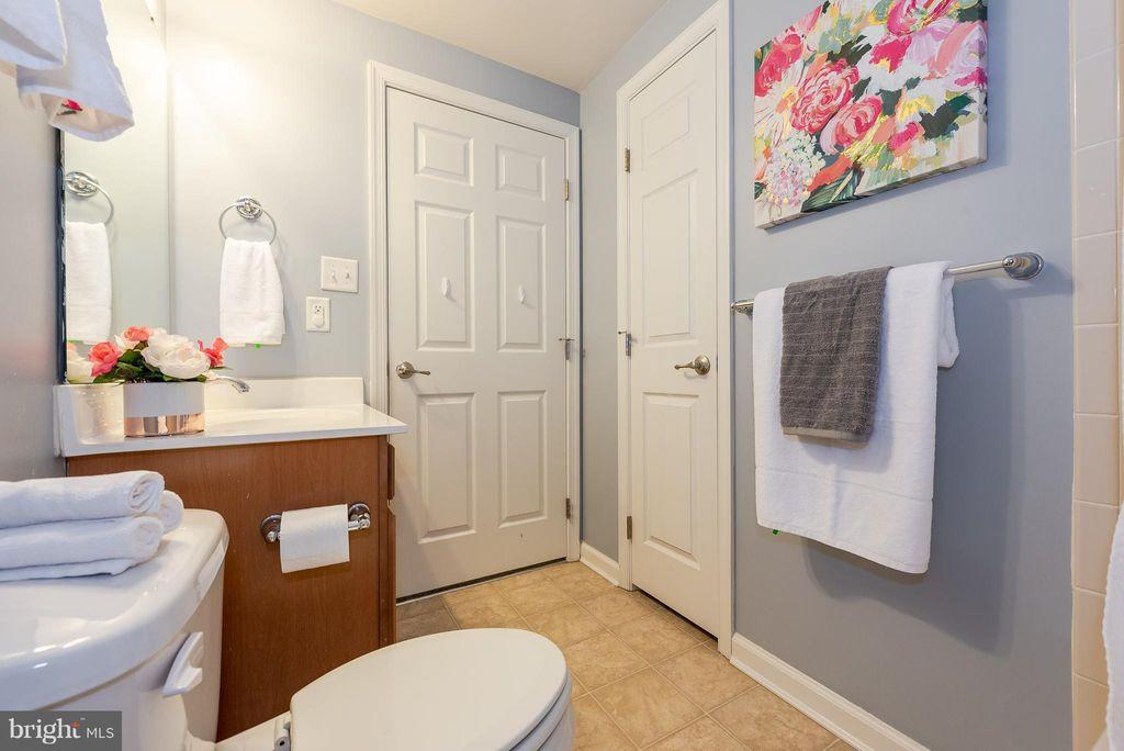 Hallway Bathroom (After)