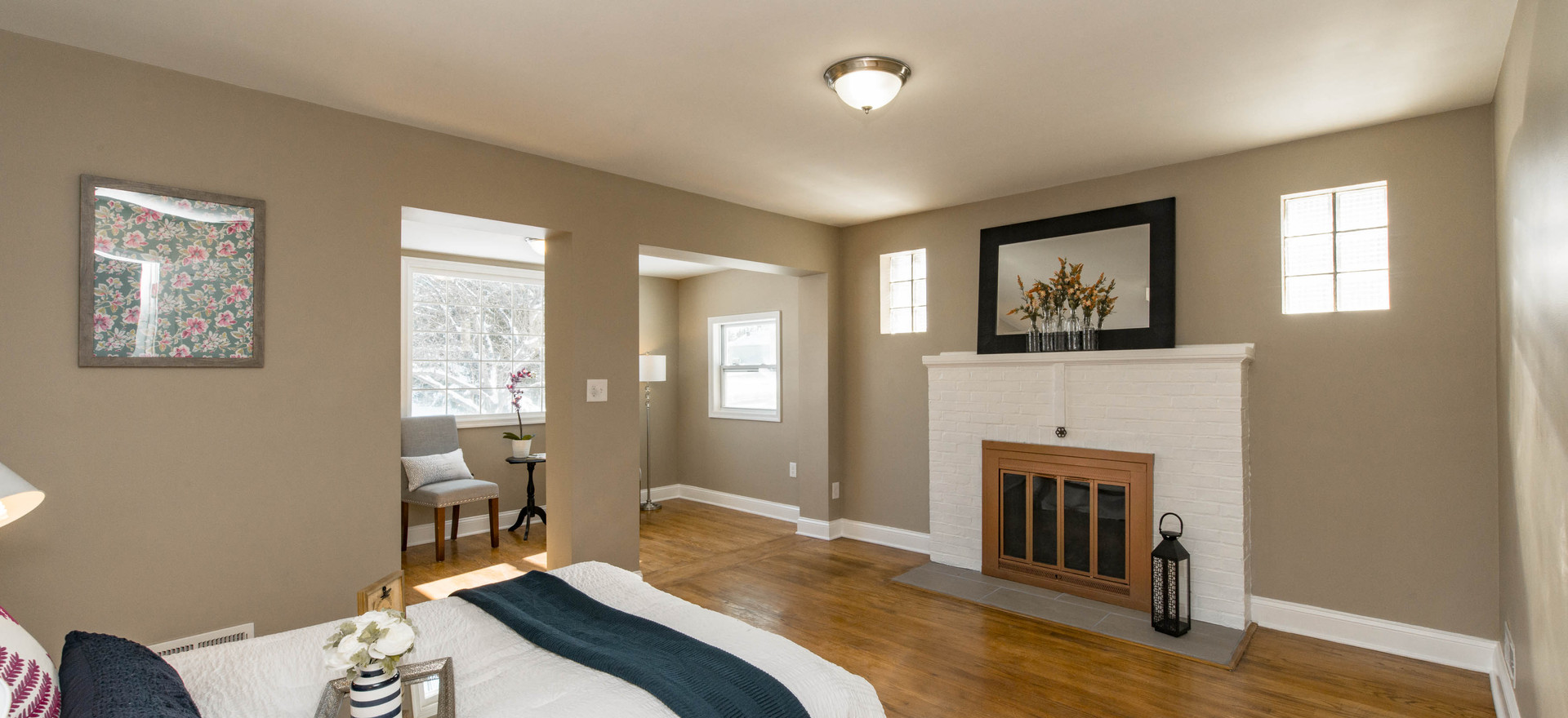 Master Bedroom (Vacant Staged)