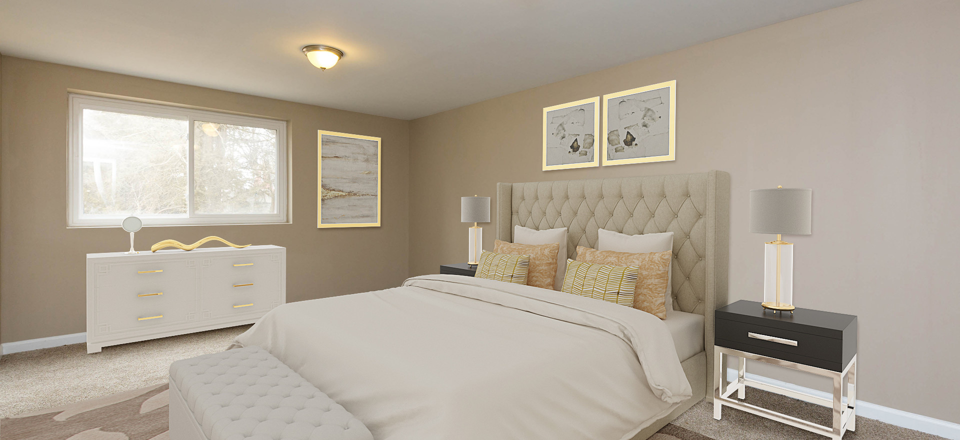 Guest Bedroom (Virtual Staged)