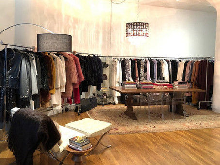 "AN APPAREL SHOWROOM ON ""BREAKING IN"" NEW BRANDS"