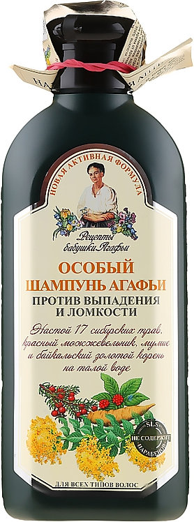 """Recepti bake Agafje"" Agafjin poseban šampon protiv opadanja kose, 350 ml"