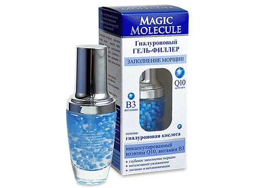 """Magic Molecule"" Hijaluronski GEL-FILER sa Q10 iVitaminom B3 ""Ravnanje bora"""