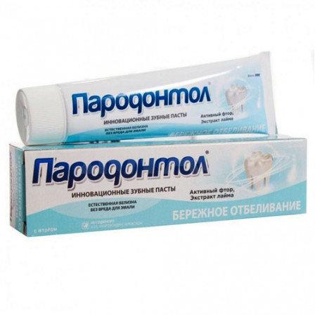 "Pasta za zube ""Parodontol"" temeljno izbeljivanje, 124 g"