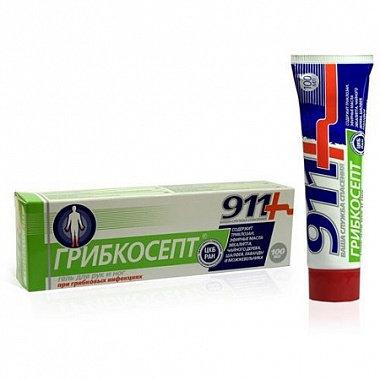 911 GRIBKOSEPT proizvod protiv gljivica na rukama i nogama / 100 ml