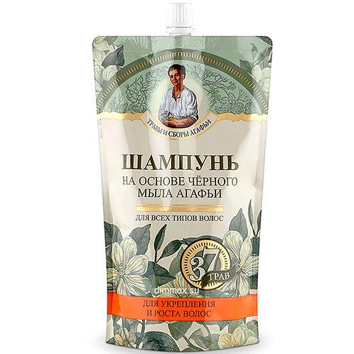 """Šampon na bazi crnog sapuna """"37 najlekovitijih trava Agafije""""500 ml"""