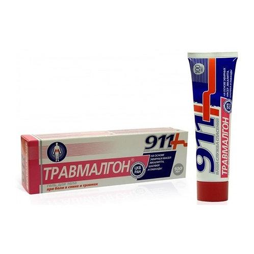 "911: ""Travmalgon®"" zagrevajući melem za telo protiv bolova u mišićima 100 ml"
