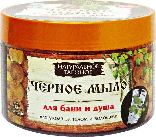 """""""CRNI ŠUMSKI"""" sapun za negu kose i tela / 450 gr.»"""