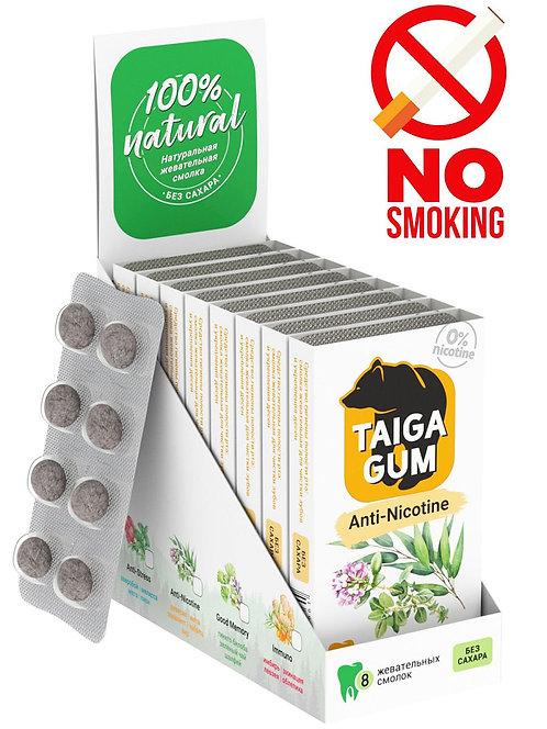 """Smola za žvakanje TAJGA """"Anti Nikotin"""" / 8 kom."""
