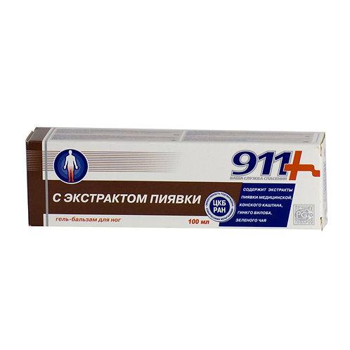 911 SA EKSTRAKTOM PIJAVICEkod vaskularnih bolesti nogu 100 ml