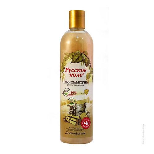 """BIO šampon Katran od breze serije """"Rusko polje"""" sa keratinom 400 ml"""