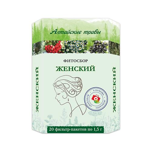 """Biljna mešavina """"Altajsko bilje"""" za Žene za prevenciji ženskih bolesti"""