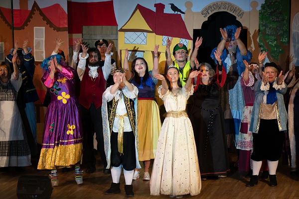 Sprowston Parish Players - Cinderella Cast Photo