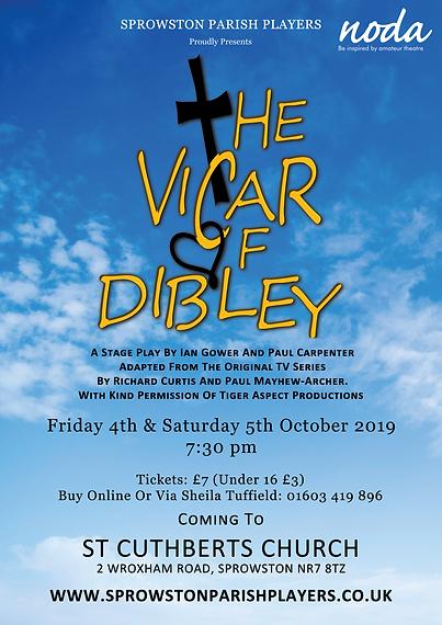Vicar Of Dibley A4 Poster.png