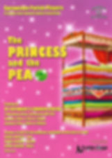The Princess and the pea Poster - Sprowston Parish Players