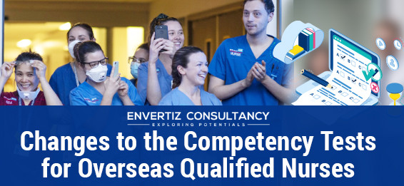 Changes to the Competency Tests for Overseas Qualified Nurses