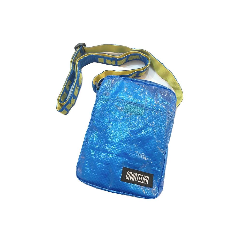 ウェブショップ限定 Civiatelier IKEA Remake Small Shoulder Bag Pouch イケア リメイク ポーチ