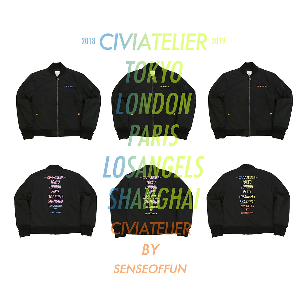 The world is yours Thinsulate MA-1 Jacket
