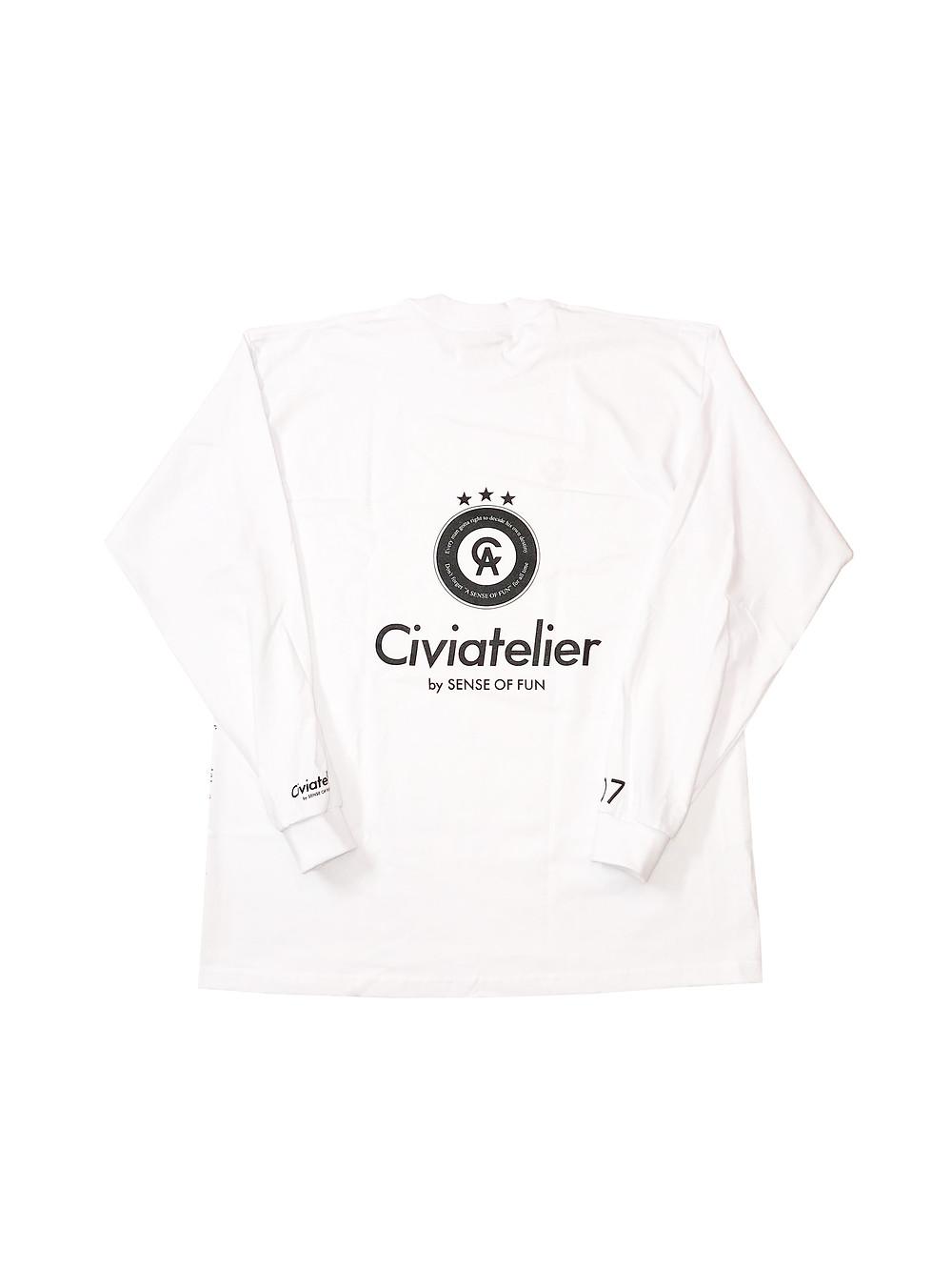 Civiatelier No.1 Dunker Long Sleeve Tee BLK (jordan)