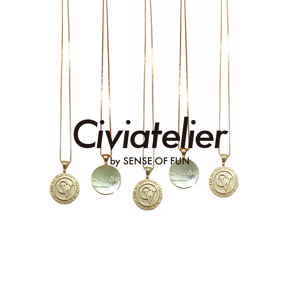 Civiatelier Original 10k Gold Neckless