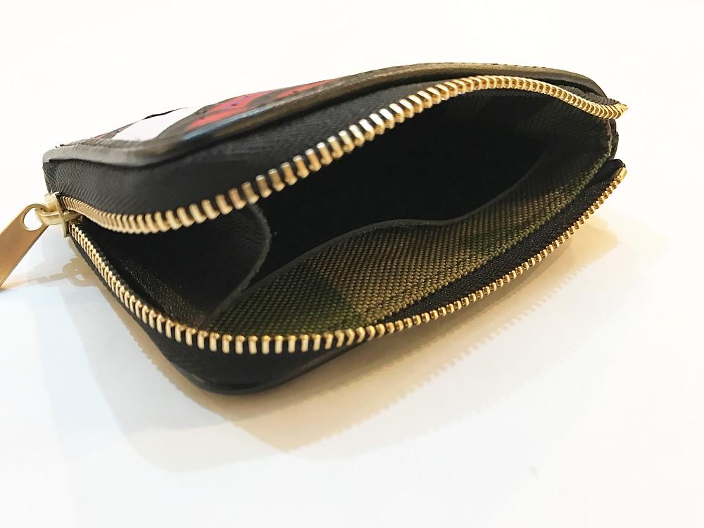 """Toronto Raptors """"Vincent Carter"""" Model Remake Coin Case... New model camo"""