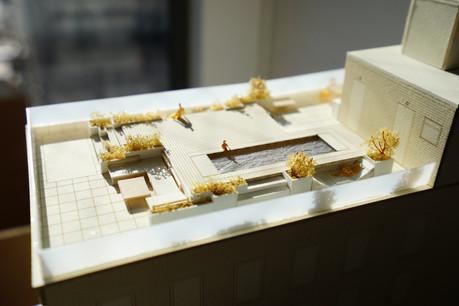 55 west 17th rooftop model.JPG
