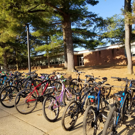Valley Forge Middle School Receives Bike Award Through GVF's My School in Motion Program