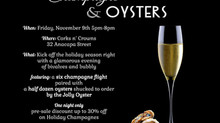 7th Annual Champagne & Oyster Night
