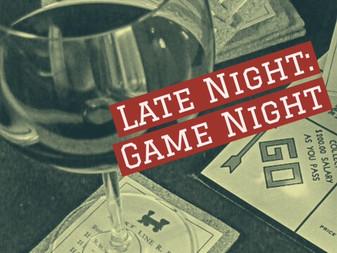 Late Night: Game Night