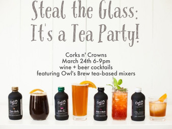 Steal the Glass: It's a Tea Party!