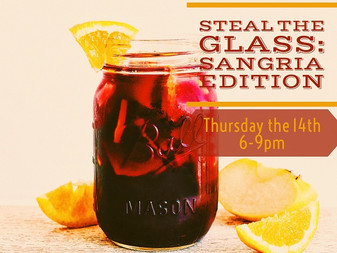 Steal the Glass: Sangria Edition