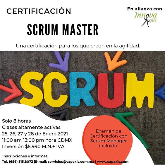 CERTIFICACIÓN DE SCRUM MASTER