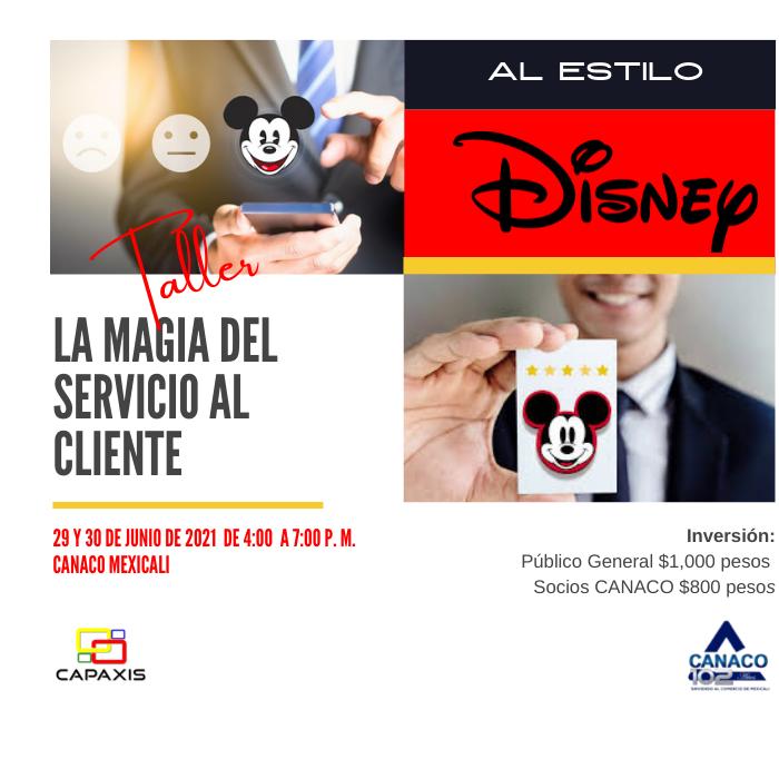 TALLER: LA MAGIA DEL SERVICIO AL CLIENTE AL ESTILO DISNEY