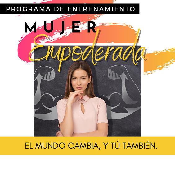 Programa de Entrenamiento - Mujer Empoderada