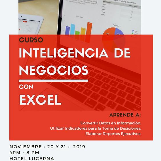 """Curso """"Inteligencia de Negocios"""" con Excel"""