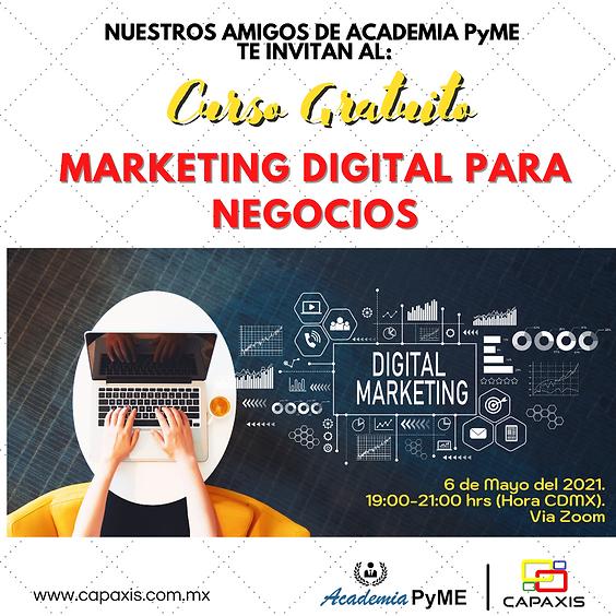 Curso Gratuito : Marketing Digital para Negocios