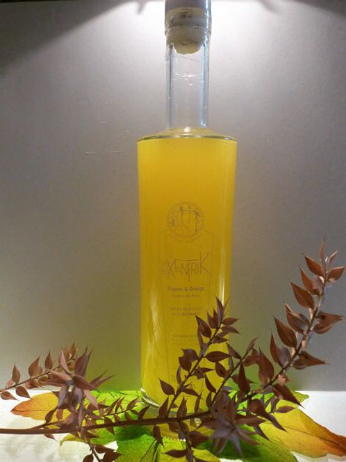 Exentrik : cognac, orange et essence de rose