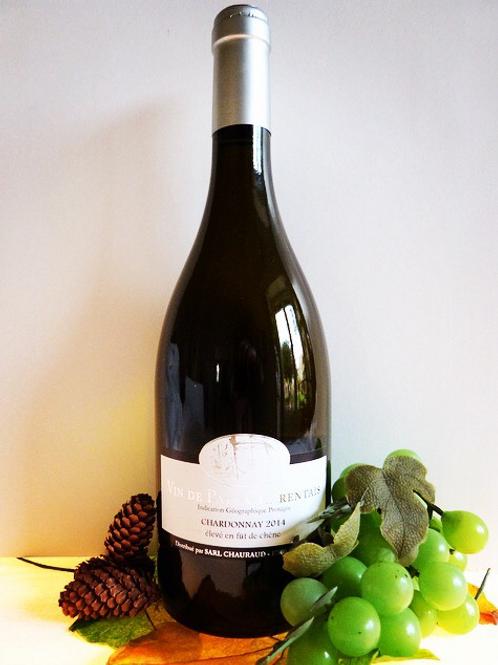 Chardonnay élevé en Fût de Chêne 2020 75 cl      12,5°