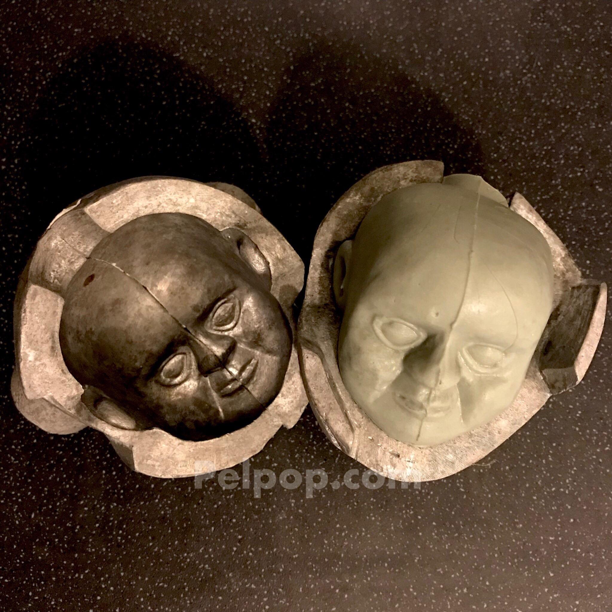 Prof Popkiss & Friar Tuck Head