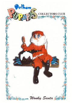 Wonky Santa