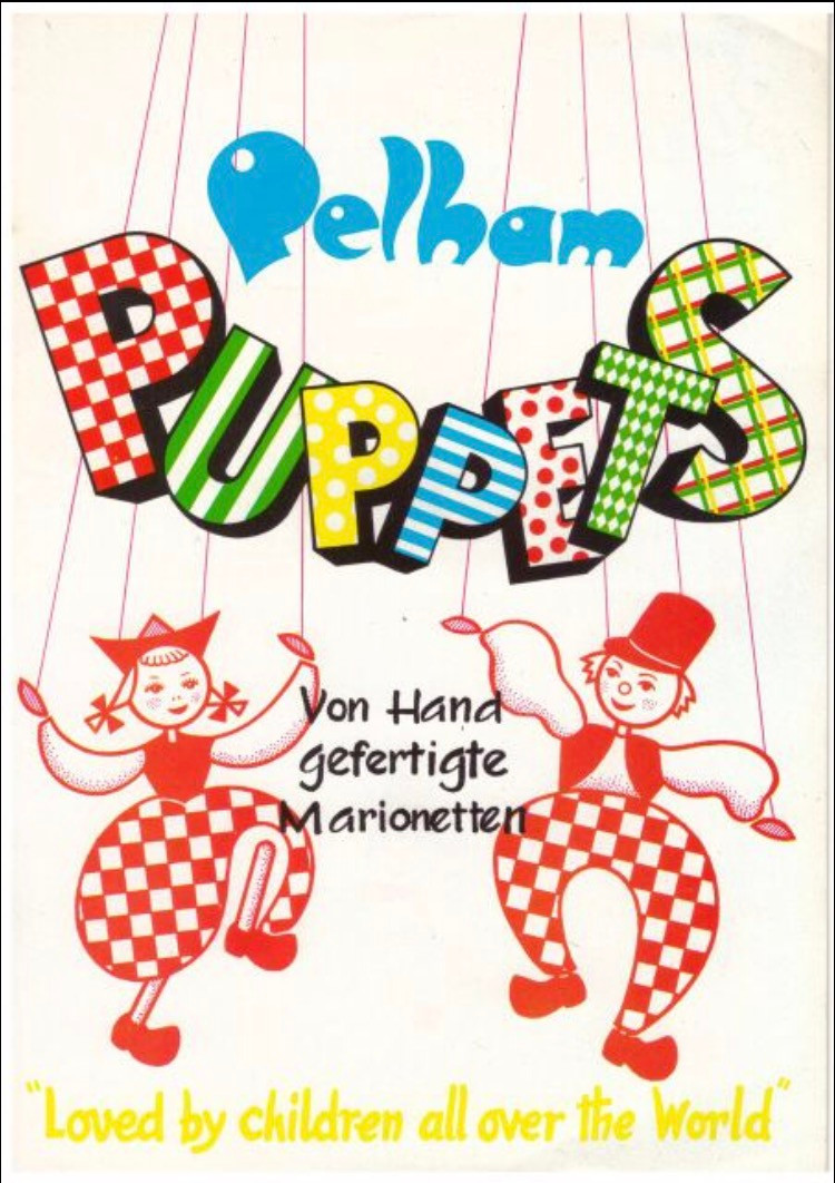 Pelham Puppet Brochure in German 1973