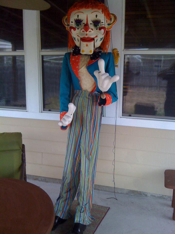 9ft Display Clown called Sam