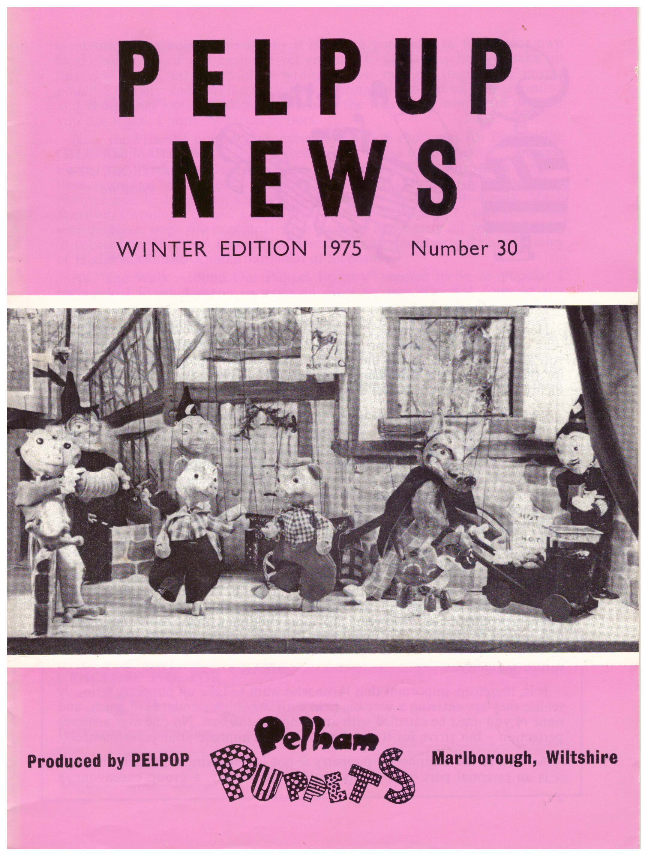 Winter Edition 1975 Number 30