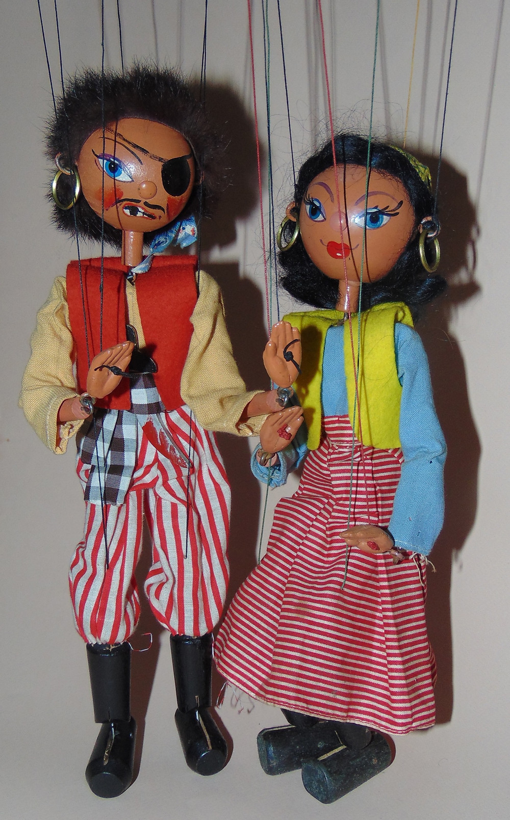 Pelham Puppet SS Pirate Couple