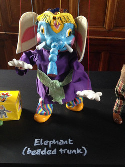 SL Beaded Trunk Elephant