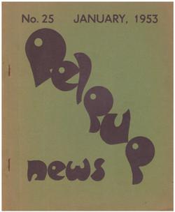 No. 25 January 1953